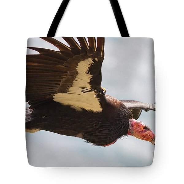 California Condor At Big Sur Tote Bag