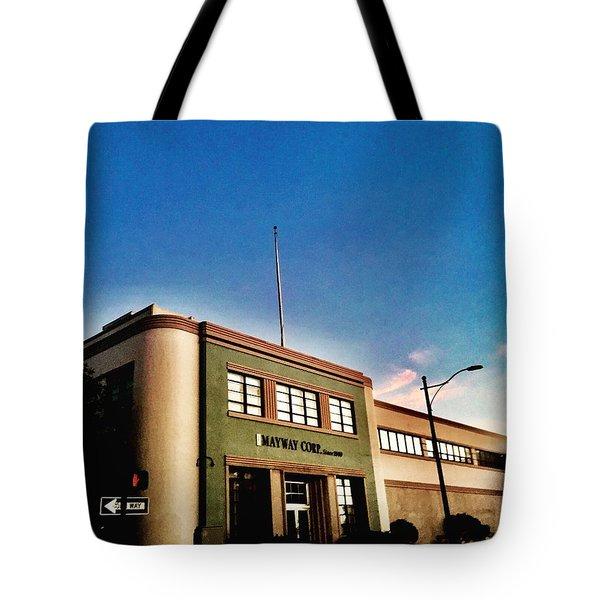 California Corner Tote Bag