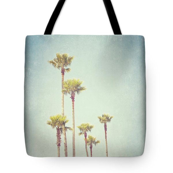 California Dreaming - Palm Tree Print Tote Bag by Melanie Alexandra Price