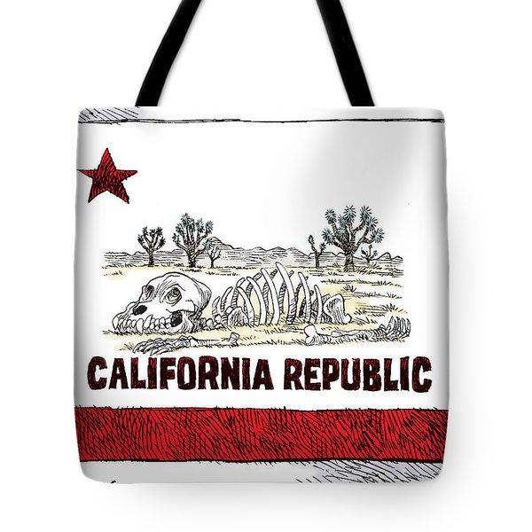 California Drought Tote Bag