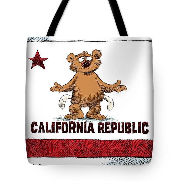 California Empty Pockets Tote Bag