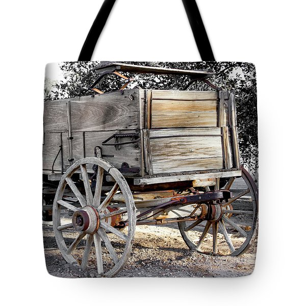 California Farm Wagon Tote Bag