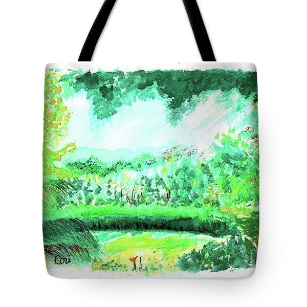 California Garden Tote Bag