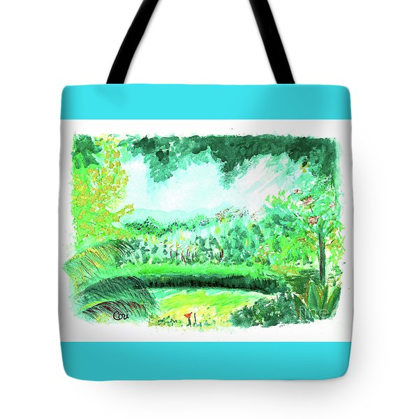California Garden Tote Bag