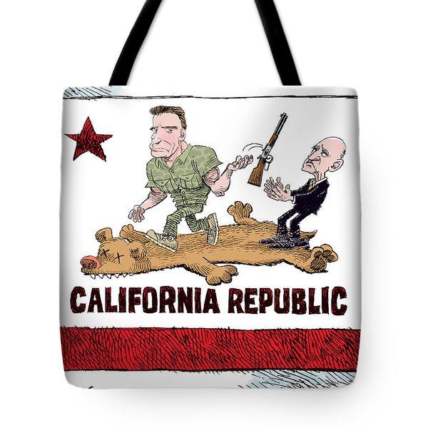 California Governor Handoff Tote Bag