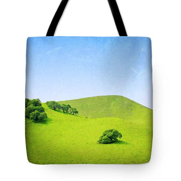 California Hillside Tote Bag by Melanie Alexandra Price