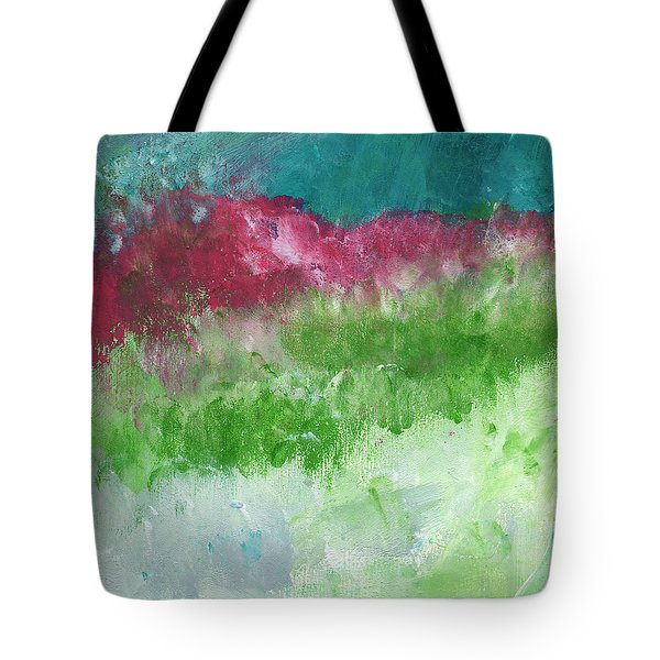 California Landscape- Expressionist Art By Linda Woods Tote Bag