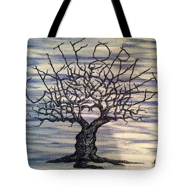 California Love Tree Tote Bag