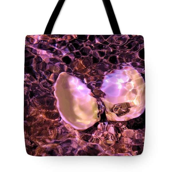 California Mussels From Abalone Cove Tote Bag