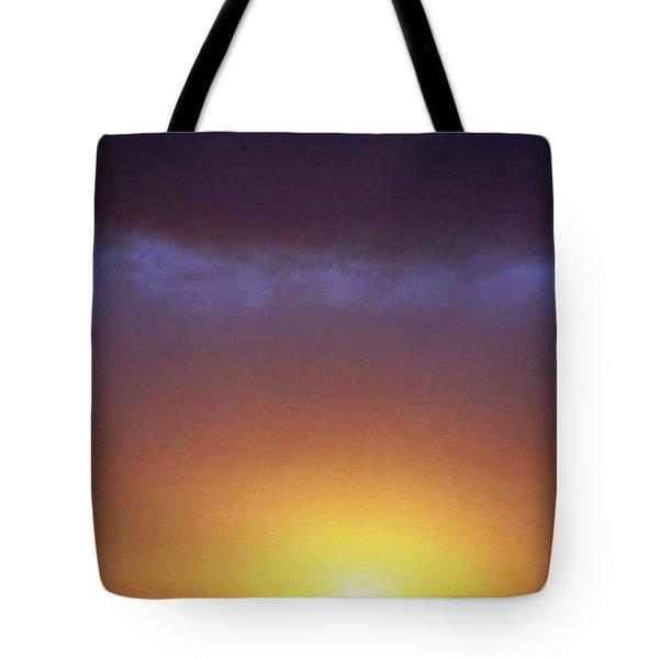 California Ocean Sunset Tote Bag