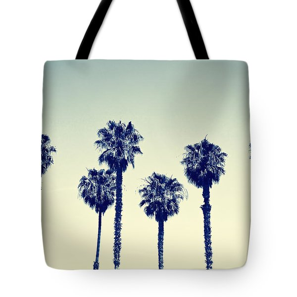 California Palm Trees Tote Bag
