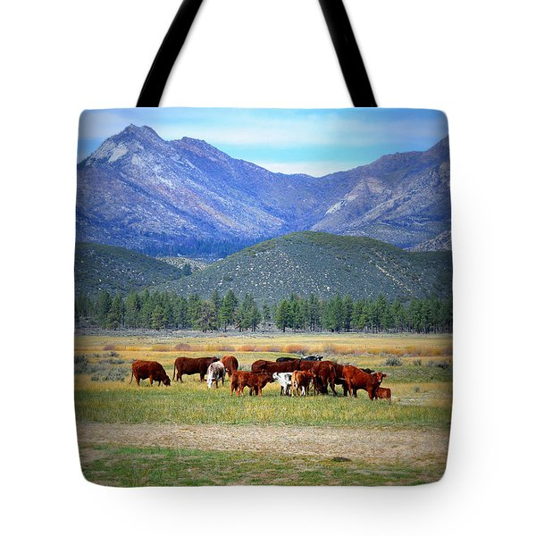 Tote Bag featuring the photograph California Pastures by Glenn McCarthy Art and Photography