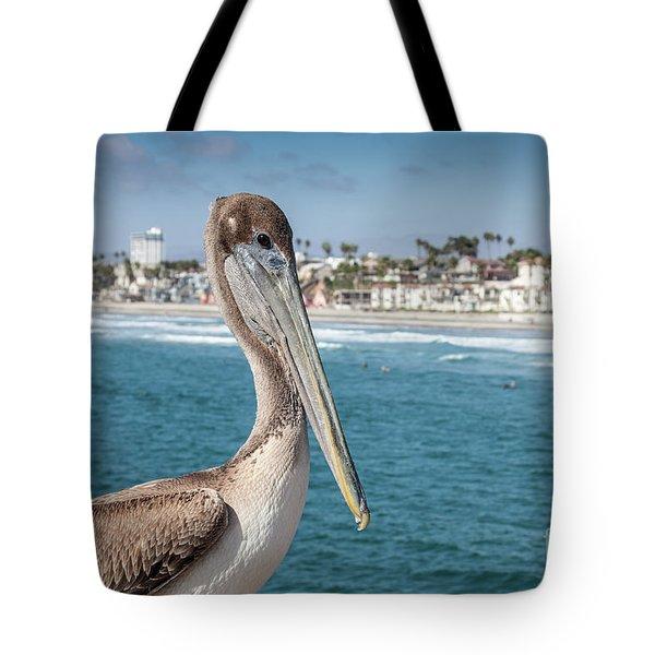 California Pelican Tote Bag