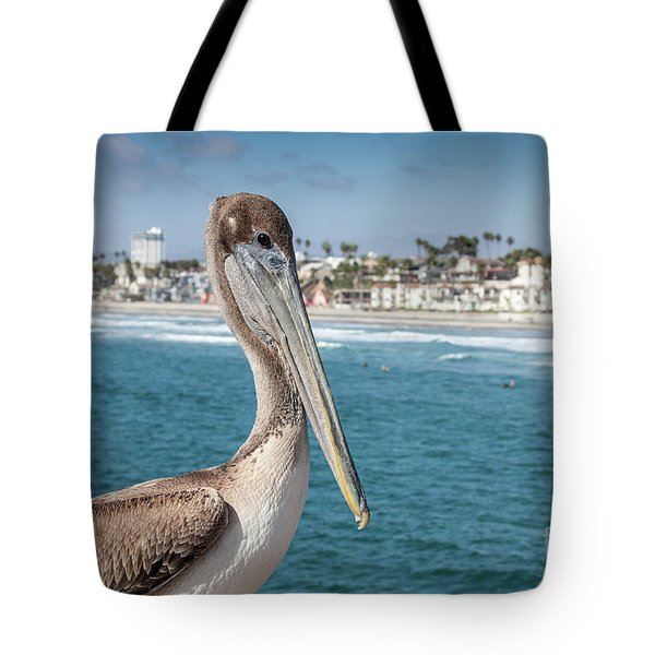 California Pelican Tote Bag