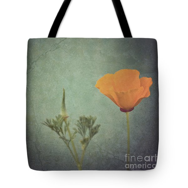 California Poppy Tote Bag by Cindy Garber Iverson