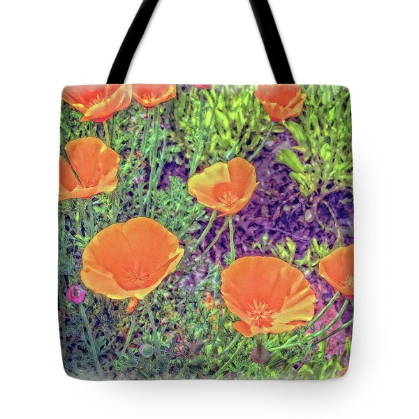 California Poppys Too Tote Bag