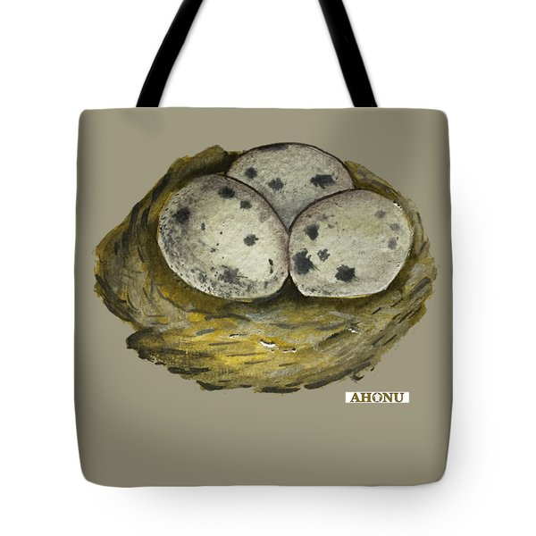 California Quail Eggs In Nest Tote Bag