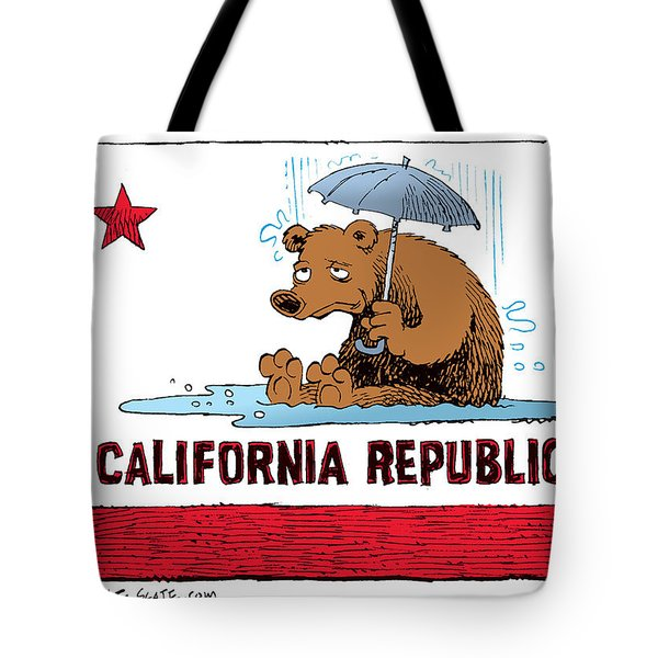 California Rain Tote Bag