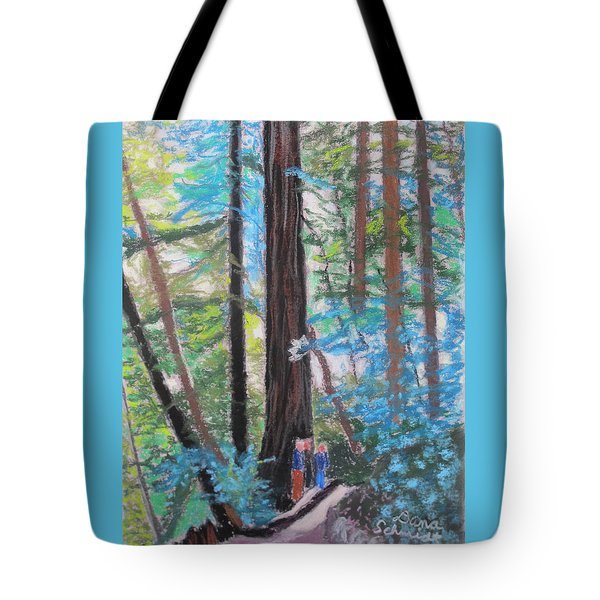 California Redwoods Near San Jose Tote Bag