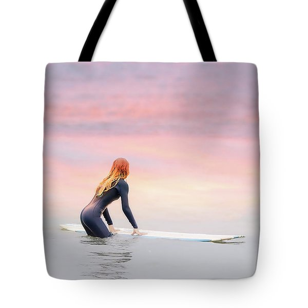 California Surfer Girl II Tote Bag