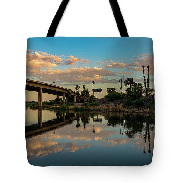 California To Arizona Tote Bag