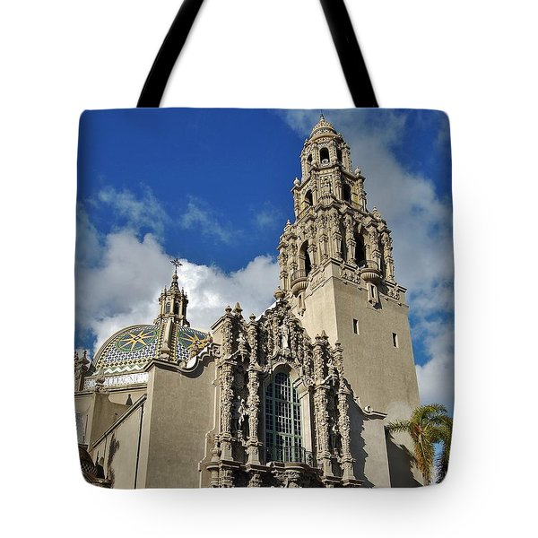 California Tower 2010 Tote Bag by Jasna Gopic