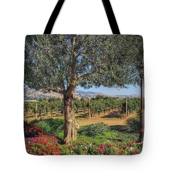 California Wine Country Tote Bag