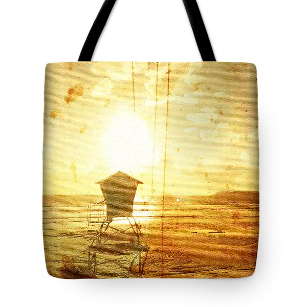 Californian Lifeguard Cabin Tote Bag