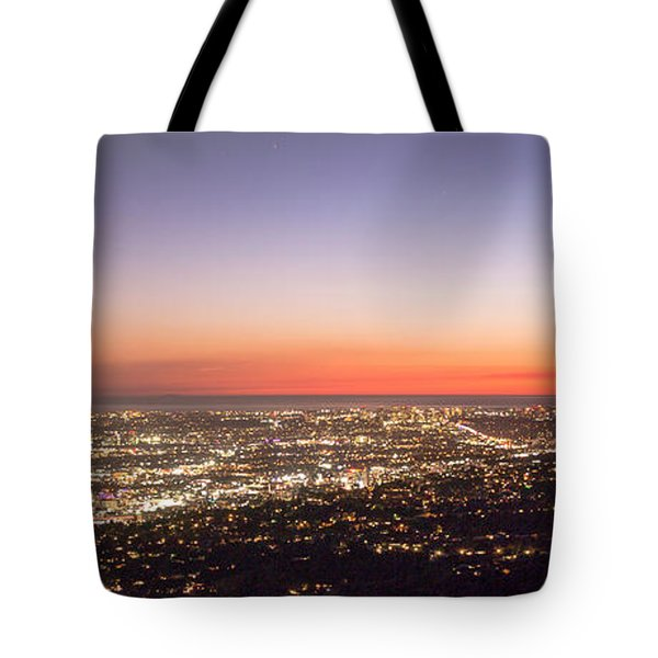 Californian Sunset Tote Bag