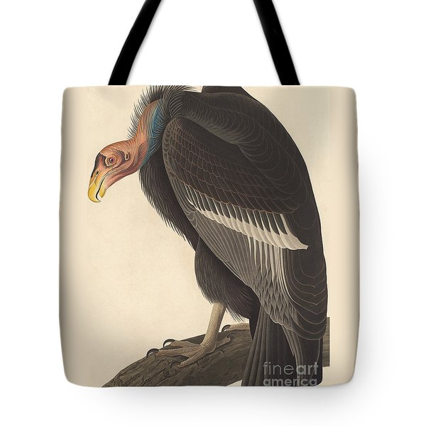 Californian Vulture Tote Bag by John James Audubon
