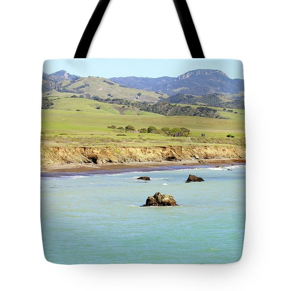 Tote Bag featuring the photograph California's Central Coast by Art Block Collections