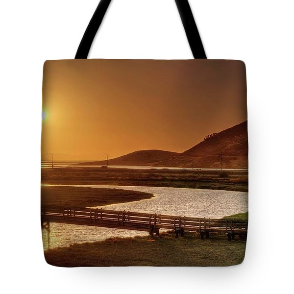 Tote Bag featuring the photograph California's Wild West by Peter Thoeny