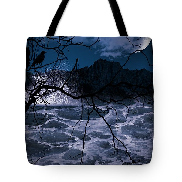 Caliginosity Tote Bag by Lourry Legarde