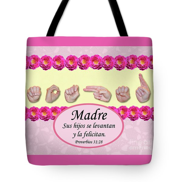 Call Her Blessed Spanish Tote Bag