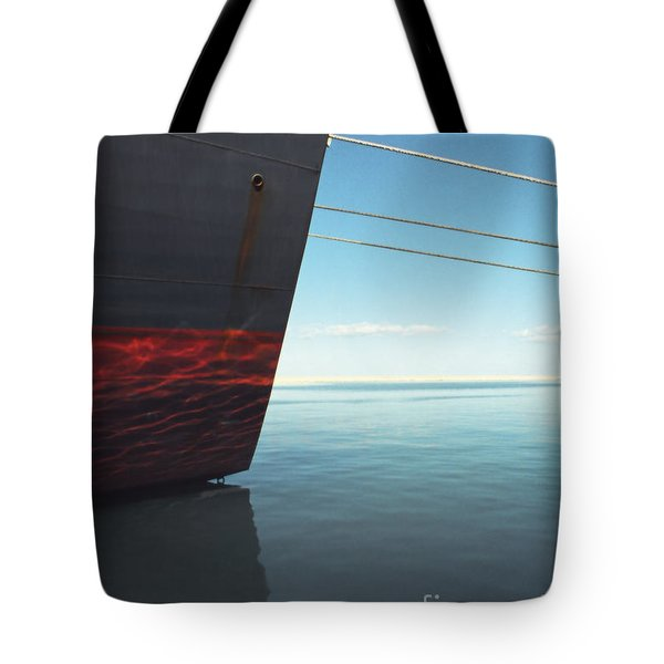 Call Of The Distant Shores Tote Bag by Marc Nader
