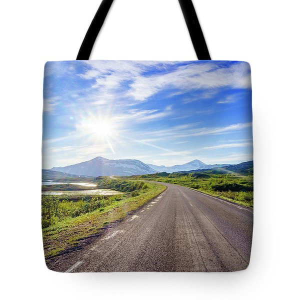 Tote Bag featuring the photograph Call Of The Road by Dmytro Korol