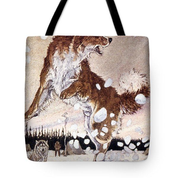 Call Of The Wild Tote Bag by Granger