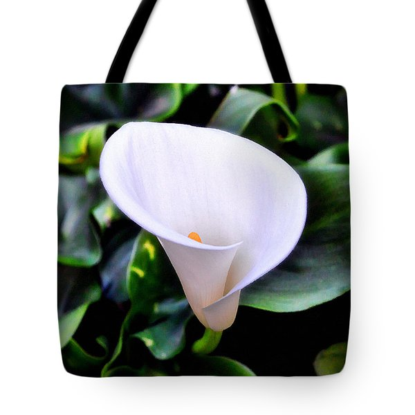 Tote Bag featuring the photograph Calla Lily by Glenn McCarthy