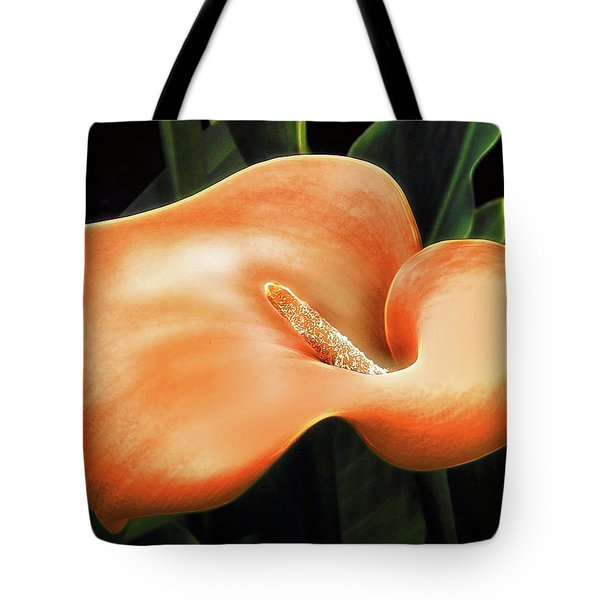 Calla Lily Tote Bag by Pennie  McCracken