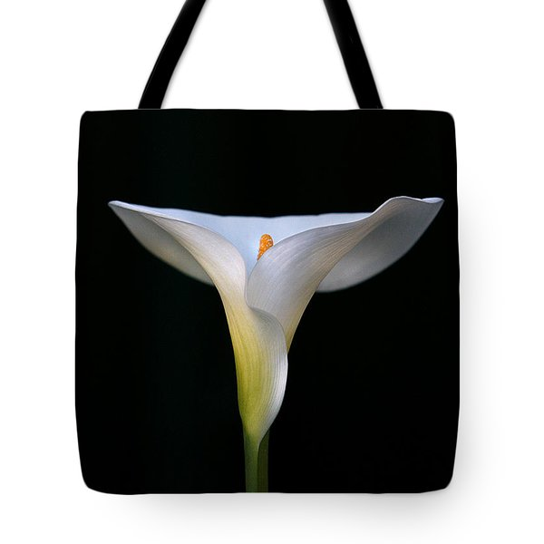 Tote Bag featuring the photograph Calla Lily by Marion Cullen
