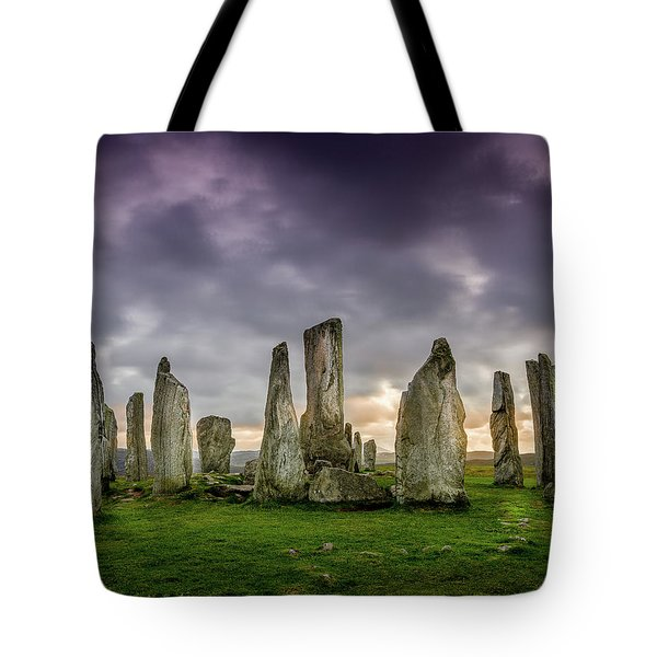 Callanish Stone Circle, Scotland Tote Bag