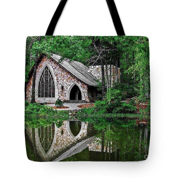 Callaway Gardens Ida Cason Chapel Tote Bag