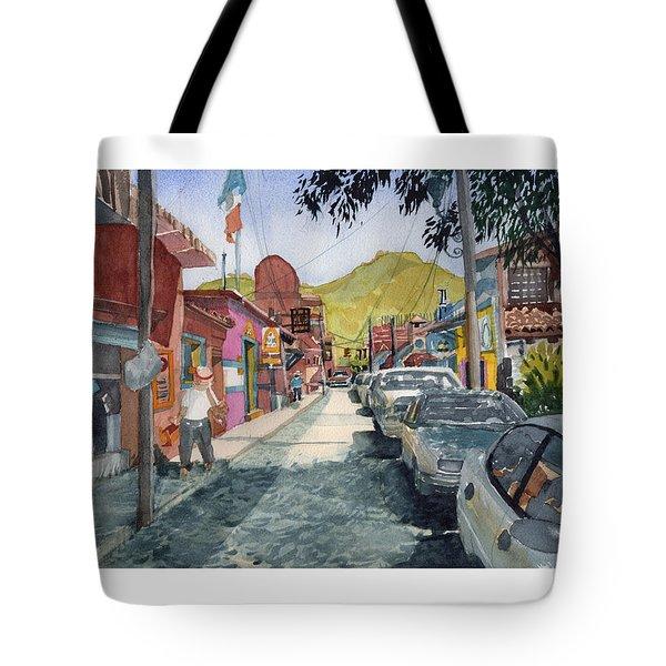 Calle Turistica Mx Tote Bag