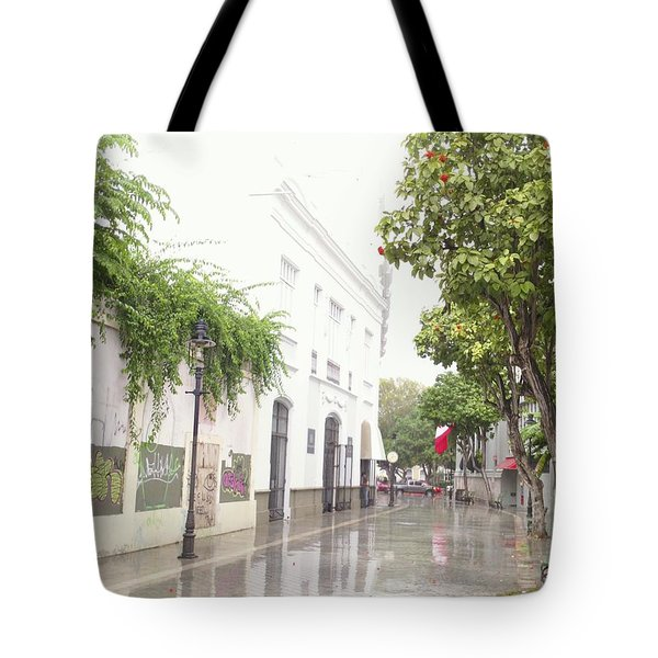 Callejon Amor, Ponce, Puerto Rico Tote Bag