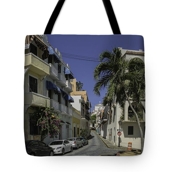 Tote Bag featuring the photograph Callejon De Las Monjas by Jose Oquendo
