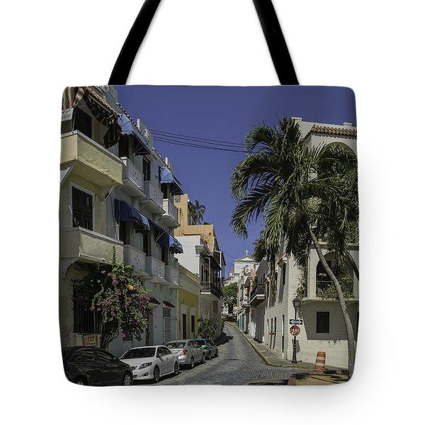 Callejon De Las Monjas Tote Bag