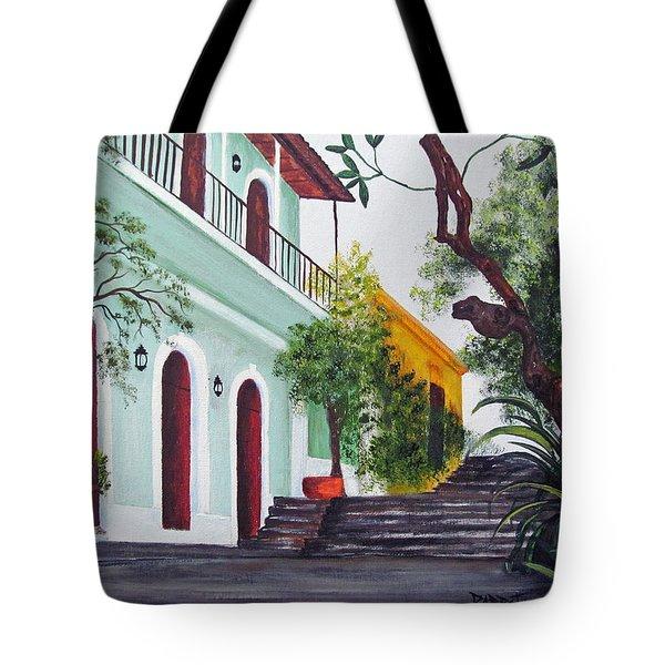 Callejon Del Hospital Tote Bag