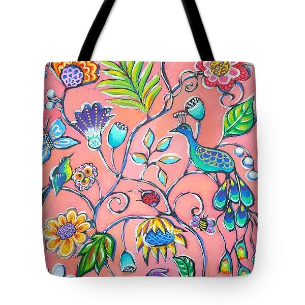 Callies Garden Tote Bag by Sandra Lett