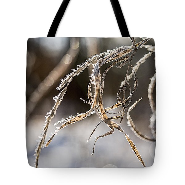 Calligraphy In The Grass Tote Bag by Annette Berglund