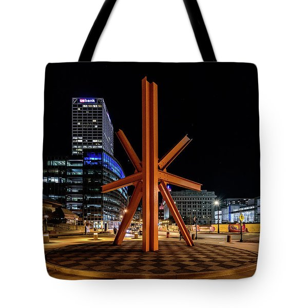 Tote Bag featuring the photograph Calling After Sundown by Randy Scherkenbach
